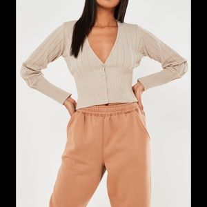 Missguided Cardigan Top